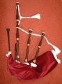 3/4 size New Highland Bagpipes