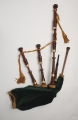Full size Mopane Highland Bagpipe - sorry out of stock!